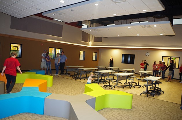 Elementary Classrooms Without Desks ~ A look inside red trail elementary school in mandan photos