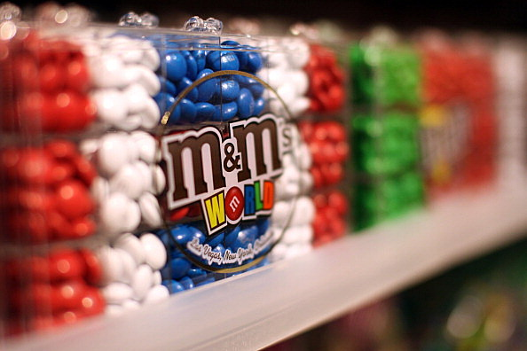 Inside The New M&M Store